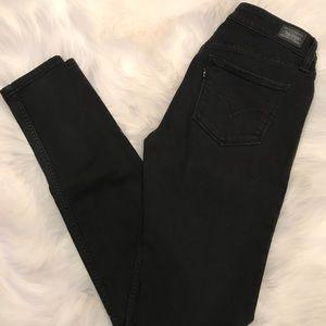 Black Levi Denim Leggings - Size 27